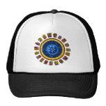 Diseño maya del calendario gorra