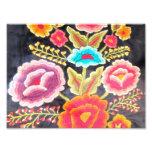Diseño mexicano del bordado arte fotográfico