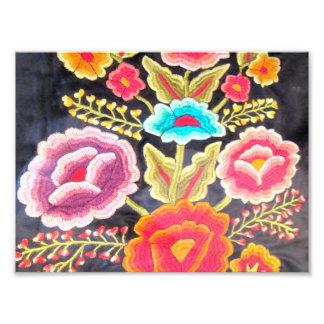Diseño mexicano del bordado fotografías