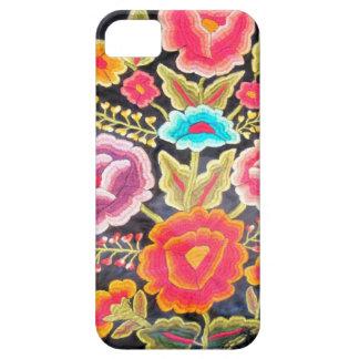 Diseño mexicano del bordado funda para iPhone 5 barely there