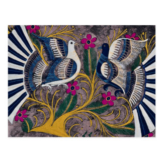 Diseño mexicano pintado, Cuernavaca, México Tarjetas Postales