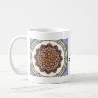 Diseño mezclado suavidad del modelo del medallón taza