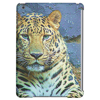 Diseño misterioso del primer del leopardo