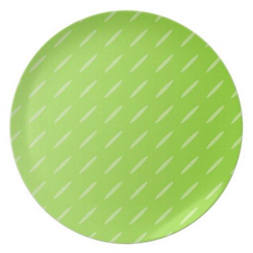 Diseño modelado verde lima brillante del fondo platos de comidas