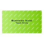 Diseño modelado verde lima brillante del fondo plantilla de tarjeta de visita