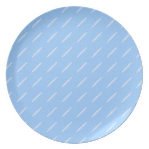 Diseño moderno azul claro del modelo del fondo platos de comidas