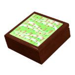 Diseño moderno de los bastones de caramelo del cajas de recuerdo