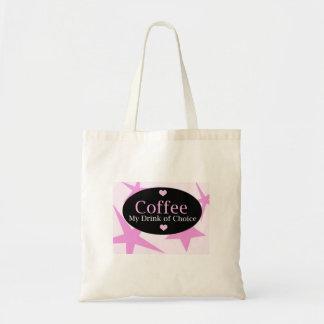 Diseño moderno del café bolsa