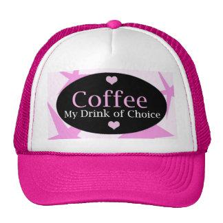 Diseño moderno del café gorras