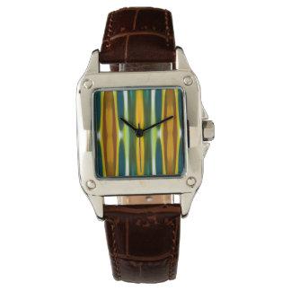 Diseño moderno del modelo de la caída del bosque relojes de pulsera