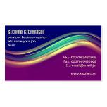 diseño moderno profesional de la tarjeta de visita