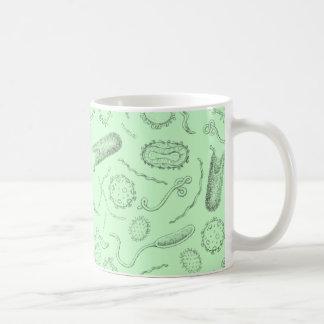 Diseño mortal tazas de café