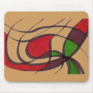"Diseño Mousepad del extracto del ""pez volador"""