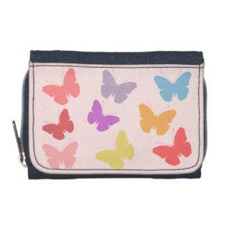 Diseño multicolor de las mariposas