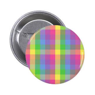 Diseño multicolor del inspector pin redondo de 2 pulgadas