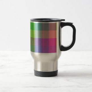 Diseño multicolor del inspector taza térmica