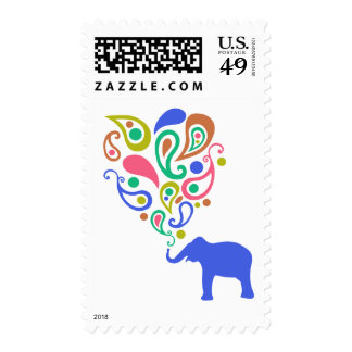 Diseño multicolor del modelo del elefante de envio
