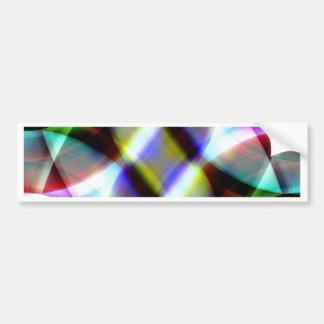 Diseño multicolor del modelo por Tutti Pegatina Para Auto