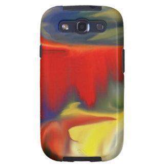 Diseño múltiple 100 de Abstrac del colorfull del p Samsung Galaxy SIII Funda