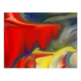 Diseño múltiple 100 de Abstrac del colorfull del p Postales