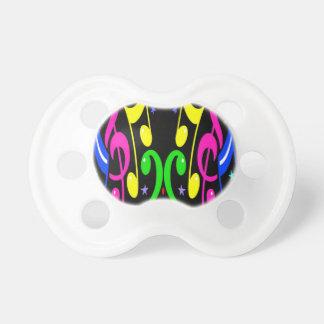 ¡Diseño musical colorido - impresionante Chupetes Para Bebes