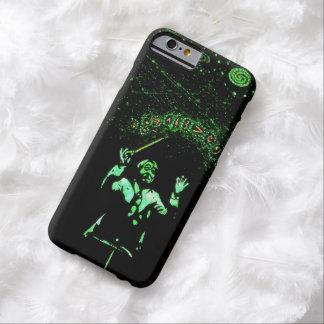 diseño musical, cósmico, fresco de la cubierta del funda para iPhone 6 barely there