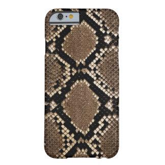 Diseño muy elegante de la piel de serpiente funda barely there iPhone 6
