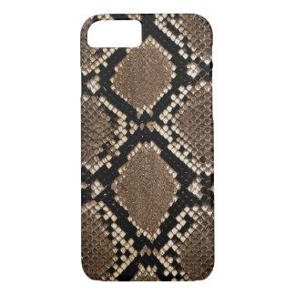 Diseño muy elegante de la piel de serpiente funda iPhone 7