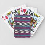 Diseño nativo baraja cartas de poker