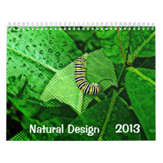 Diseño natural 2013 calendarios de pared