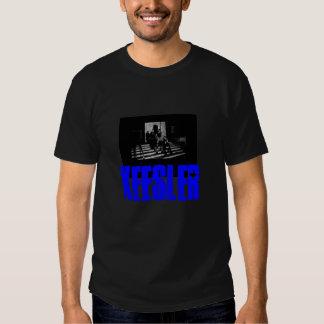 Diseño negro 2 de la camiseta - modificado para camisas