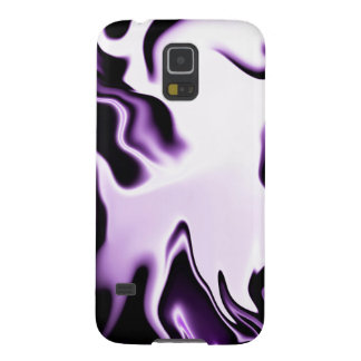 diseño negro blanco púrpura carcasa de galaxy s5