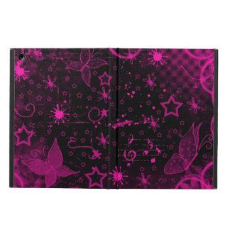 Diseño negro rosado