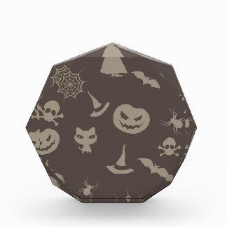 Diseño negro y gris de la diversión de Halloween