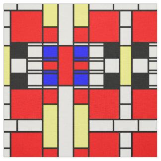 Diseño neo del plasticism del estilo de Mondrian Telas