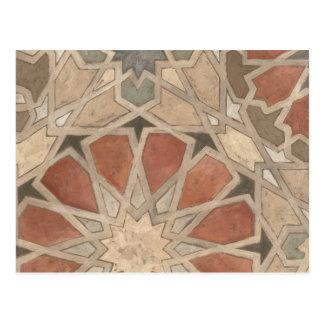 Diseño No-Embellecido I de Marrakesh Tarjeta Postal