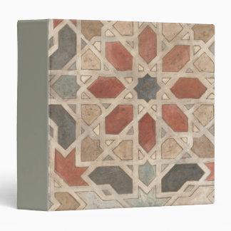 "Diseño No-Embellecido II de Marrakesh Carpeta 1 1/2"""