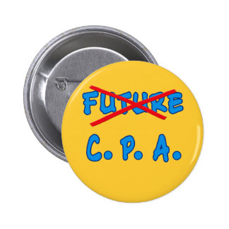 Diseño no más futuro de la graduación de CPA Pin