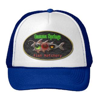 Diseño observado del gorra de tres pescados