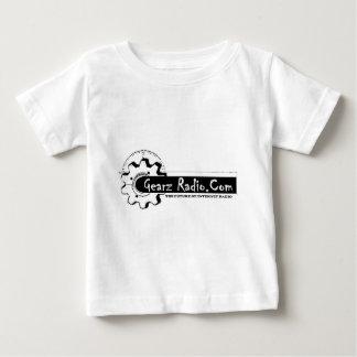 Diseño oficial de la radio de Gearz Playera De Bebé