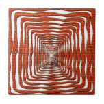 Diseño ondulado azulejos cerámicos