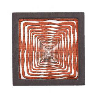 Diseño ondulado cajas de regalo de calidad