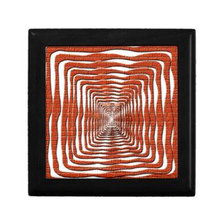 Diseño ondulado caja de joyas