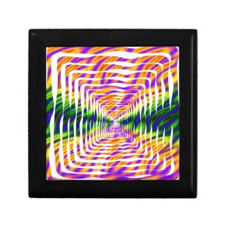 Diseño ondulado caja de recuerdo
