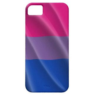 DISEÑO ONDULADO de la BANDERA BISEXUAL del ORGULLO iPhone 5 Case-Mate Funda