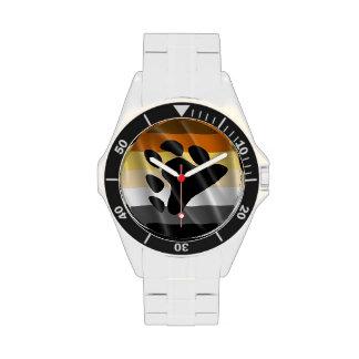 DISEÑO ONDULADO del ORGULLO del OSO - 2014 Relojes De Pulsera