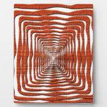 Diseño ondulado placas de plastico