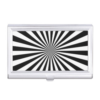 Diseño óptico moderno de la rueda de hilado de la cajas de tarjetas de visita