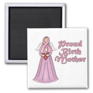 Diseño orgulloso del ángel de la madre de nacimien iman para frigorífico