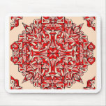 ¡Diseño oriental de la manta! Alfombrilla De Raton